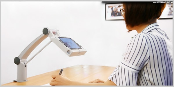 Zoomax easeArm for Snow 7 HD Plus Handheld Video Magnifier for Low Vision