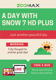 A day with Snow 7 HD Plus cover