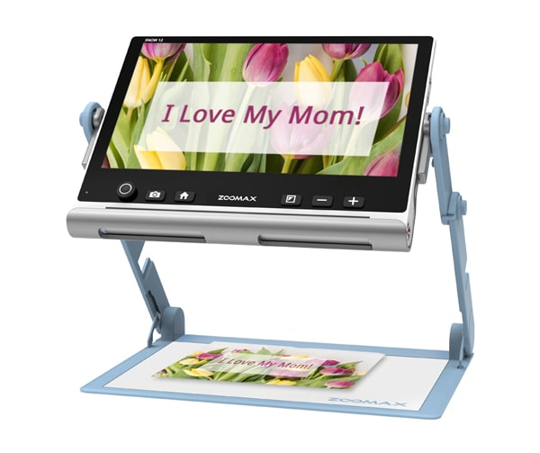 Mothers Day Zoomax Snow 12 Portable Video Magnifier Magnifying A Lovely Card