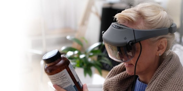 Acesight Electronic Glasses for low vision