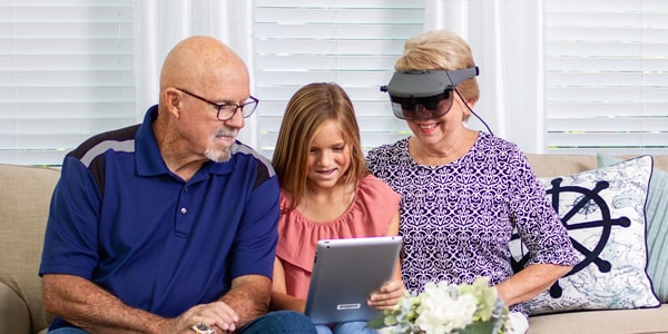 Acesight S Electronic Glasses for low vision