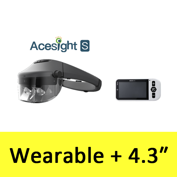 Wearable Acesight S and Snow 4.3
