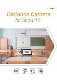 Distance Camera for snow 12 Brochure Cover