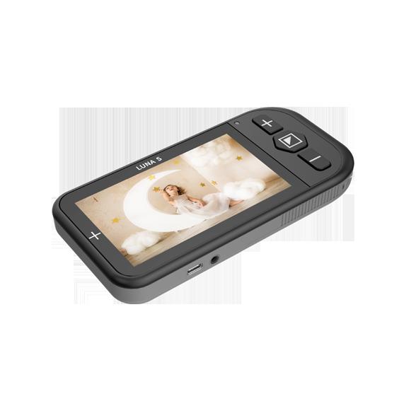 luna s 4.3-in handheld video magnifier - zoomax
